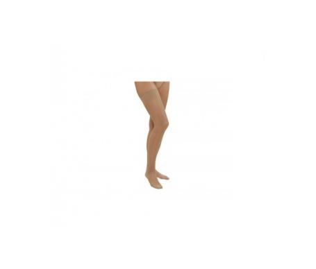 Viadol media larga cadera derecha beige talla mediana