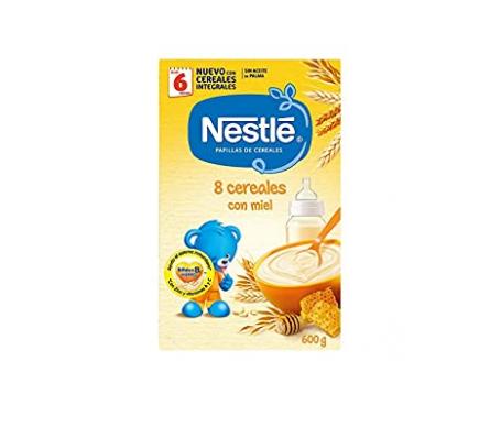Nestlé papilla 8 cereales miel 600g