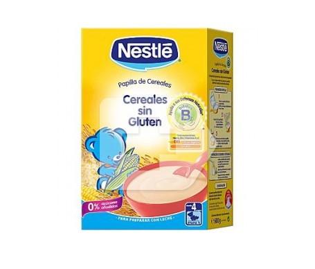 Nestlé papilla cereales sin glúten 600g