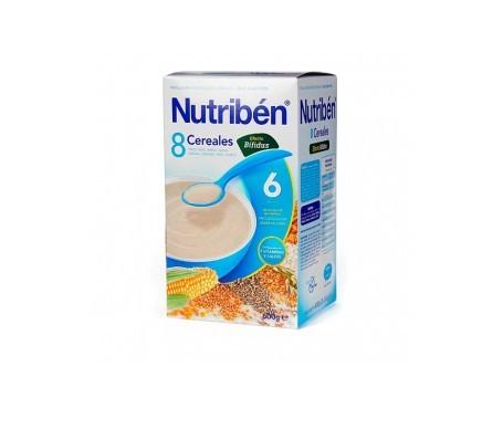 Nutribén® papilla 8 cereales bífidus 300g