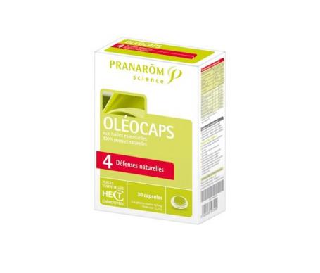 Pranarôm Oleocaps 4 Defensas 30cáps