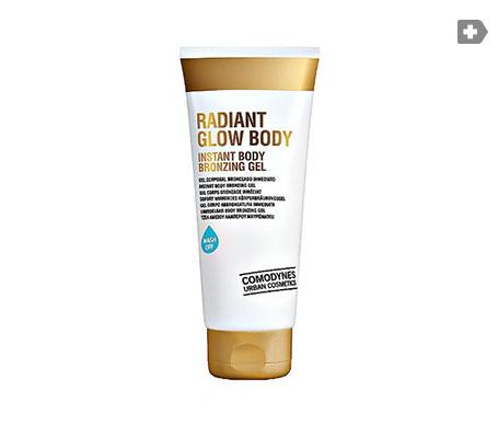 Comodynes Radiant Glow Instant Body Bronzing gel 200ml