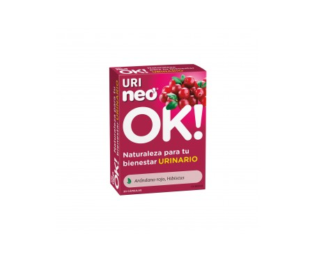 Uri-Neo® Arándano Rojo 500mg 30cáps