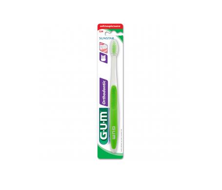 GUM™ Brosse à dents Orthodontie Adultes 124 1 u.
