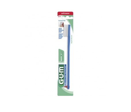 GUM® cepillo dental adulto 444 mediano suave 1ud