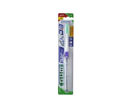 GUM® cepillo dental ortodoncia viaje 125 1ud