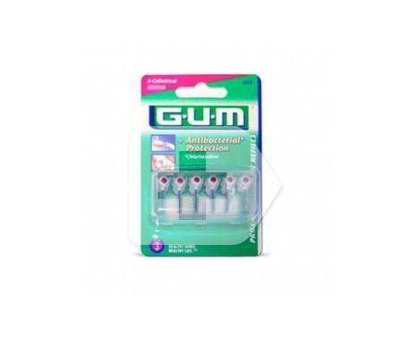 GUM™ Proxabrush 618 brosse interdentaire pour 8 pièces rechargeable