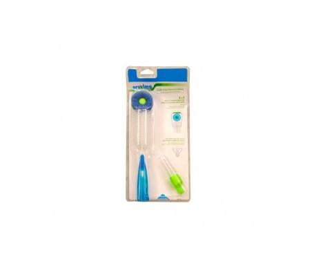Proxima cepillo limpiabiberón y tetina