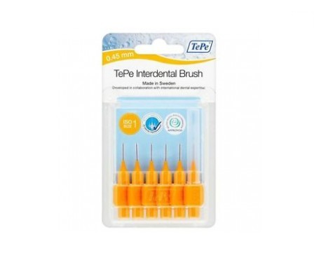 TePe® cepillo interdental 0,45 naranja