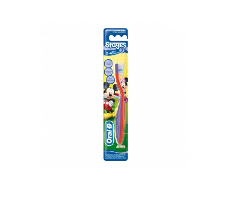 Oral-B Stages 2 cepillo dental infantil 1ud