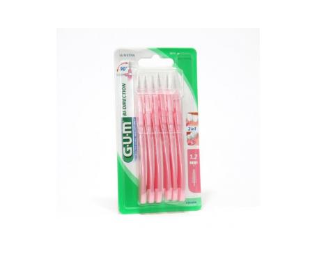 GUM® cepillo interdental Bi-Direction 2614 6uds