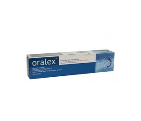 Oralex pasta pâtes dentaires anticaries 125ml