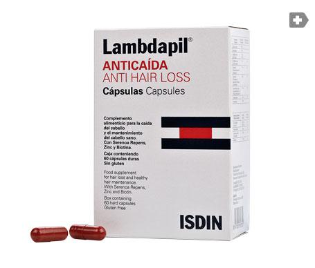 Lambdapil anticaída Anti Hair Loss cápsulas 60cáps