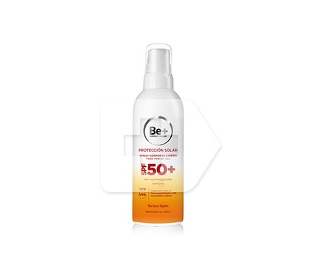 Be+ fotoprotector spray ligero SPF50+ 200ml