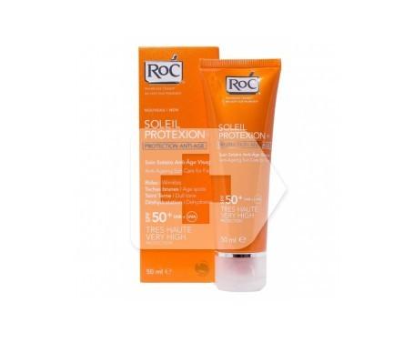 ROC® Soleil Protexion SPF50+ crema facial solar antiedad 50ml