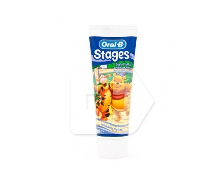 Oral-B Stages Winnie The Pooh pasta dental 75ml