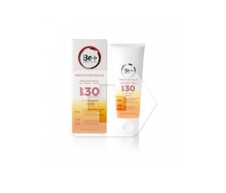 Be+ fotoprotector emulsión facial piel normal/mixta SPF30+ 50ml
