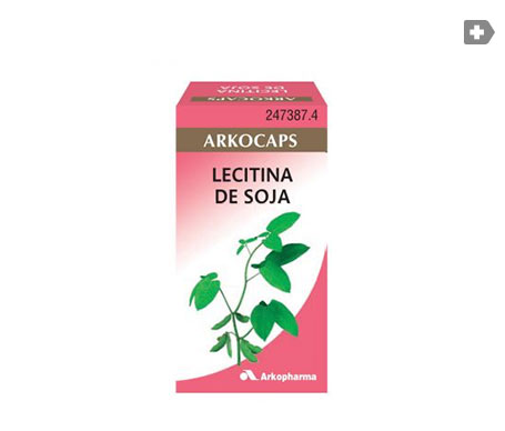 Arkocaps lecitina de soja 84cáps