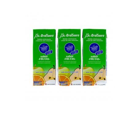 Bio-OralSuero Frutas 3uds