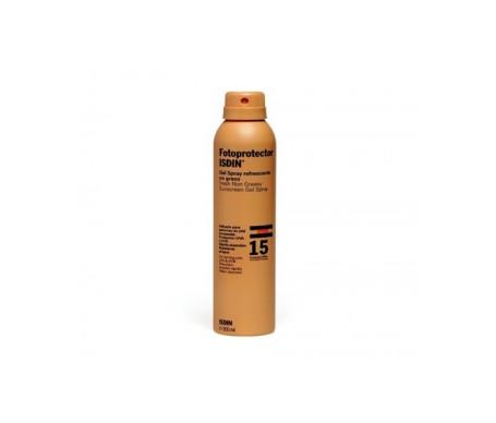 Fotoprotector ISDIN® gel-spray SPF15+ 200ml