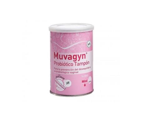 Muvagyn® probiótico tampón mini 14uds