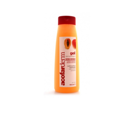 Acofarderm gel mango y papaya 750ml