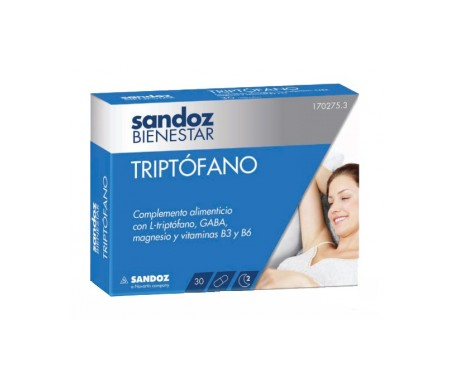 Sandoz Bienestar Triptófano 30cáps
