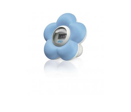 Avent termómetro de baño/habitación del bebé azul 1ud