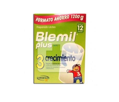 Blemil® plus 3 crecimiento 1200g
