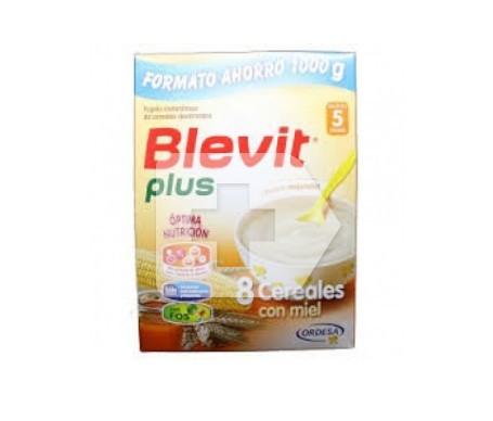 Blevit® Plus 8 cereales con miel 1000gr