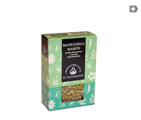El Naturalista manzanilla amarga de Mahón 50g