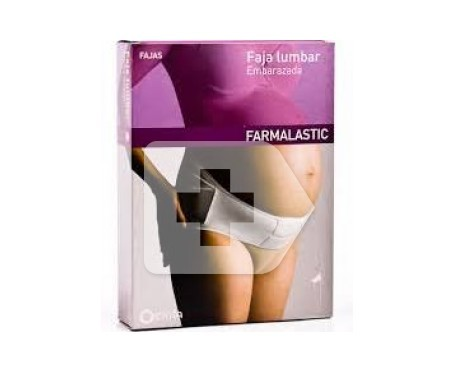 Farmalastic faja lumbar embarazo T-1