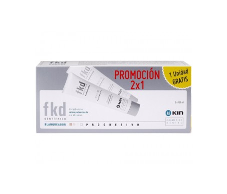 Kin FKD Plus tratamiento blanqueador 125ml+125ml