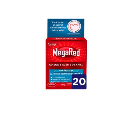 MegaRed® Omega 3 aceite de krill 20cáps