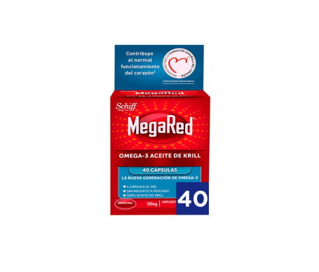 MegaRed™ Omega 3 krill oil 40 caps.