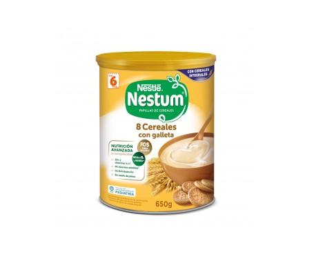 Nestlé Nestum  8 Cereales con galleta 600g