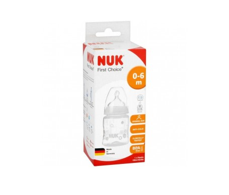 Nuk First Bib Pc pp 0 6m 300ml