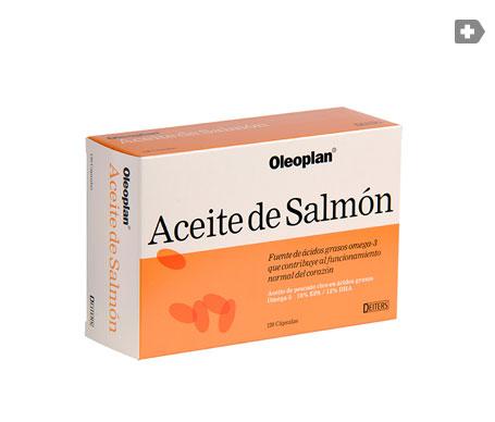 Oleoplant aceite de salmón 120cáps