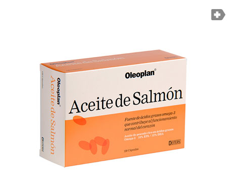 Oleoplant oil de salmón 120caps