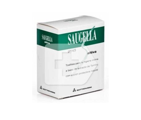 Saugella Attiva lingettes 10 pcs