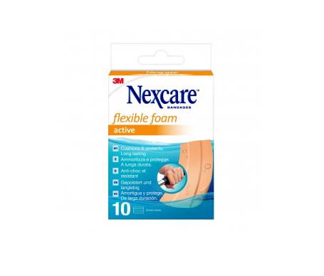 Nexcare® Active apósitos adhesivos 10x6cm 5uds