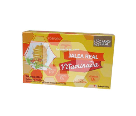 Arkoreal Jalea Real Vitaminada 10amp