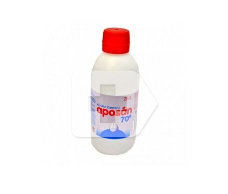 Aposán alcohol sanitario 70° 250ml