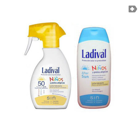 Ladival® Pack Niños spray fotoprotector SPF50+ 200ml + AFTERSUN 200ml