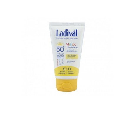 Ladival® niños fotoprotector SPF50+ leche hidratante 75ml