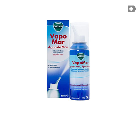 VapoMar Hipertónico spray nasal agua de mar 100ml