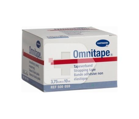 Omnitape® venda inelástica deportiva 10mX3,75cm 1ud