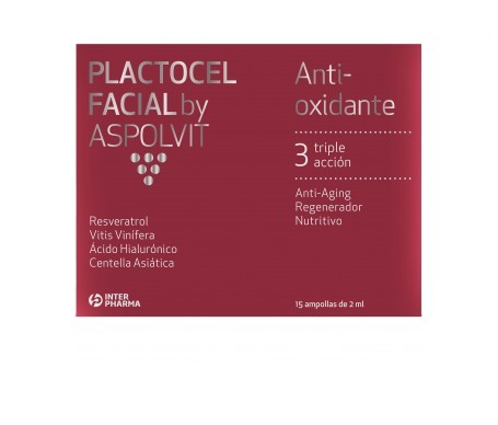 Placca viso 15ampX2ml