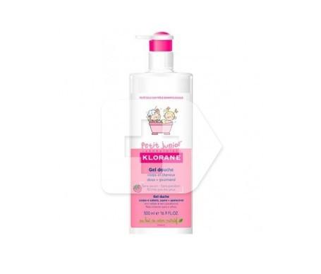 Klorane Petit Junior gel de ducha cabello y cuerpo pera 500ml