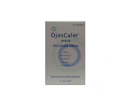 OjosCalm solución única de viaje 30ml+30ml